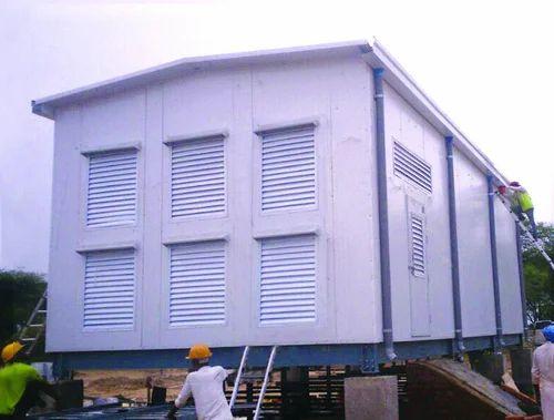 Prefab Buildings & Accessories - Control Room Inverter Room - Prefab