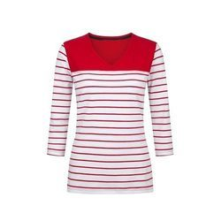 White And Red Ladies Tops