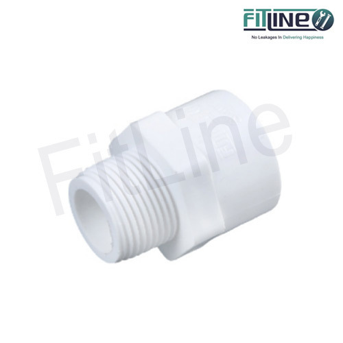 Fitline White UPVC MTA, Size: 1/2 to 2 inch