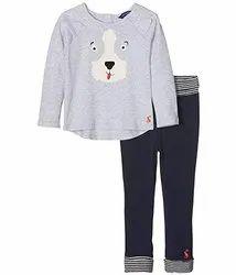 Oeko Tex Certified Yarn Dyed Kids Pant Top Set
