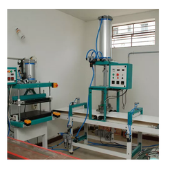 Pneumatic Paratha Double Layer Machine