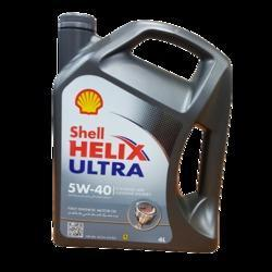 Cars Shell Ultra Full Synthetic Engine Oil For Petrol & Diesel Car, Grade: 5W-40, Unit Pack Size: 4L