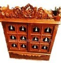 Door Bell Home Wooden Pooja Temple / Altar