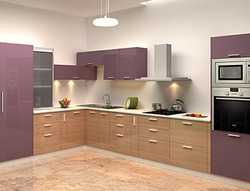 Godrej L Shape Modular Kitchen