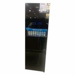 Stainless Steel 3 Star 280 L Haier Refrigerator, Bottom Freezer