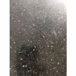 Black Galaxy Granite Slab, For Countertops, Thickness: 16 mm