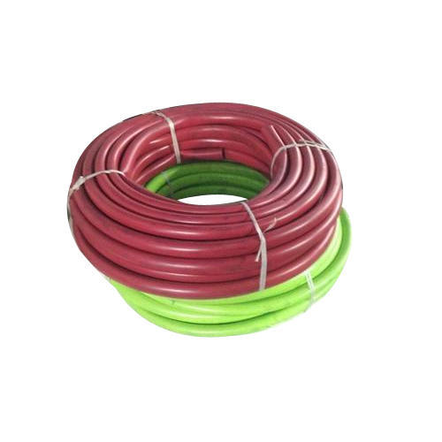 Red, Green PVC Garden Hose Pipe