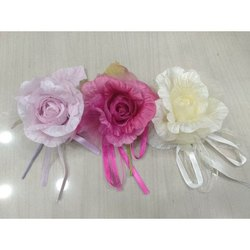 Fabric Paper Pink etc. Artificial Flower for Decoration Purpose