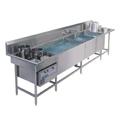 Sabari Kitchen Stainless Steel Commercial Pot Washing Sink