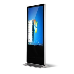 42 Inch LCD Digital Signage Rotating LED Window Display Kiosk