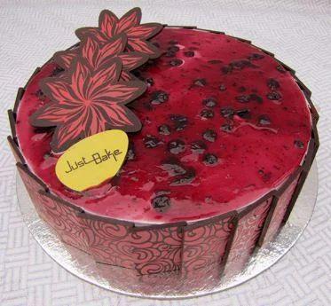 Blueberry Gateaux Cake