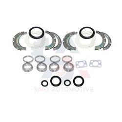 Front Axle Wheel Bearing Knuckle Swivel Hub Kit For Suzuki Samurai SJ410 SJ413 Sierra Gypsy