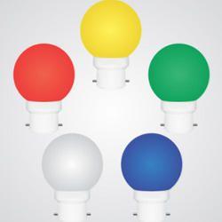 Color Full Light B15 0.5W LED Bulb, 2700-3000 K