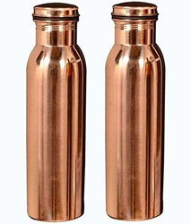 Copper Water Bottle 1000 Ml. x 2