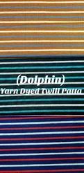 Yarn Dyed Twill Patta( Dolphin)