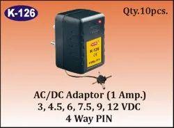 K- 126 4 Way AC/DC Adaptor