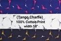 Cotton Print(Tango Charlie)