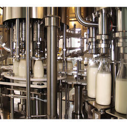 Milk Filling Machine, Capacity: 20 To 100 Bottles / Minute, 3 Hp