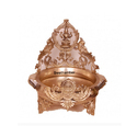 12 Inches Bronze Decorative Laxmi Urli