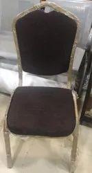HKI Mild Steel Banquet Hall Chairs, Size: 450*520*930mm