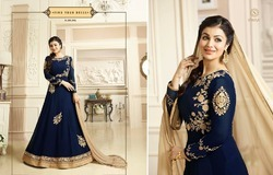 Ladies Party Wear Dress Material
