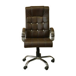 Brown Executive Leather Office Chair
