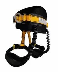 Yellow Half Body Sit Harness, For Fall Protection, Model: IBS 10007