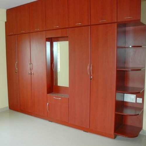 Plywood Bedroom Wooden Wardrobe Rs 850 Square Feet Design