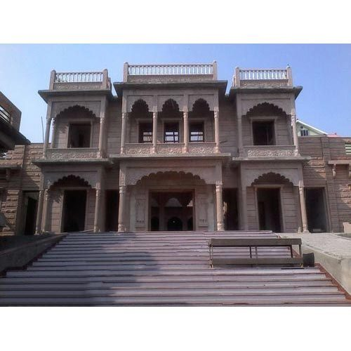 Kothi Construction Services: Stone Elevation Service In Jodhpur, Soorsagar By Shree Ram