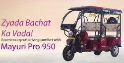 Mayuri E Rikshaw, Vehicle Capacity: 5 Seater