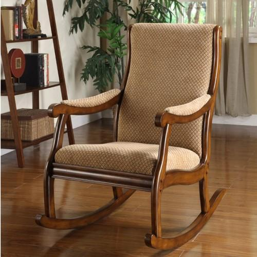 Shad Antique Wooden Rocking Chair
