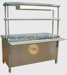 Commercial SS Pick Up Counter