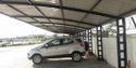 Cantilever Car Parking Shed