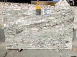 Light Brown Fantasy Brown Marble Slabs, for Countertop, Thickness: 30 mm