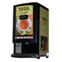 Semi Automatic Instant Tea and Coffee Vending Machine