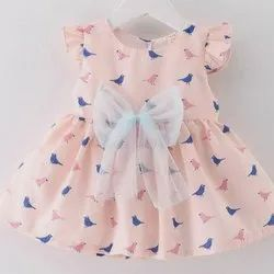 Cotton Girls Printed Frock