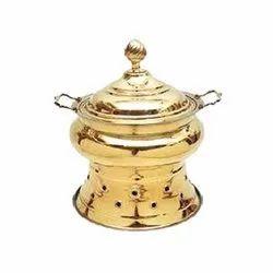 Brass Mayuri Handi