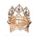16 Inches Bronze Ganesh Laxmi Saraswati Urli