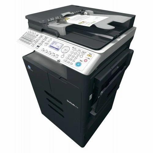 Photocopier Machine - Konica Minolta 215 Machine Xerox