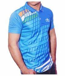Half Sleeves Printed Cricket Jersey