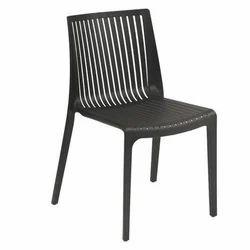 Black Oasis Plastic Chair