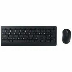 Wirelss Black Wireless Computer Keyboard, Size: Regular
