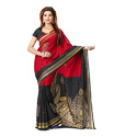 Multicolor Malgudi Art Silk Saree