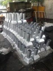 Aluminum Drainage Spout, Size: 100mm dia