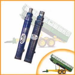 Tractor trolly hydraulic jack
