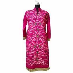 Ladies Kashmiri Woolen Kurti