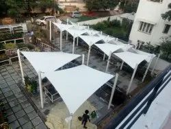 Modular Vault Tensile Fabric Waterproof Structure