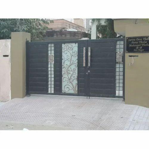 Iron Designer Paint Coated Gate ल ह क ग ट Shri Bajrang Handicraft Jaipur Id 20047138997