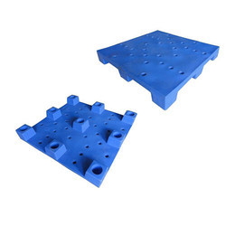 Blue Roto Molded Pallet