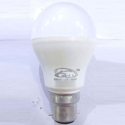 Warm White Round LED Light Bulb